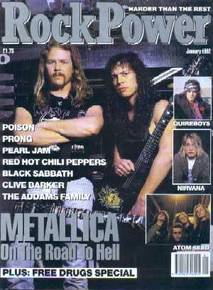 Rock Power, No 8, January 1992