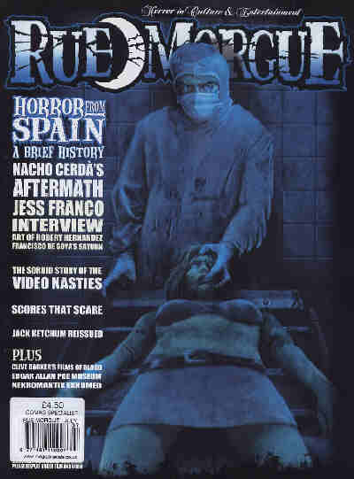 Rue Morgue, No 47, July 2005