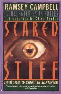 Scared Stiff by Ramsey Campbell, Warner US paperback