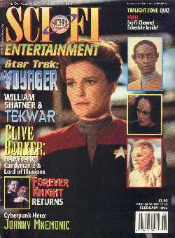 Sci-Fi Entertainment, Vol 1 No 5, February 1995