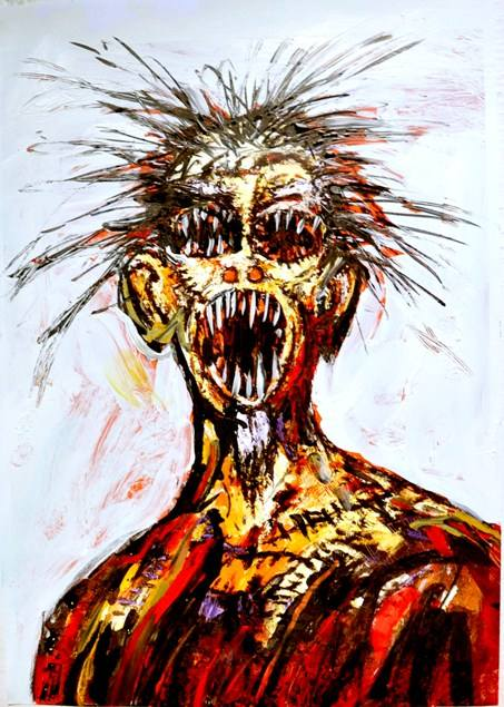 Clive Barker - Scream (version)