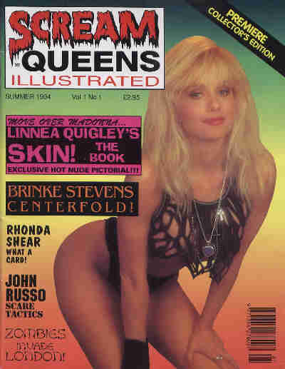 Scream Queens Illustrated, Vol 1 No 1, Summer 1994