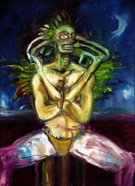 Clive Barker - Seated Man