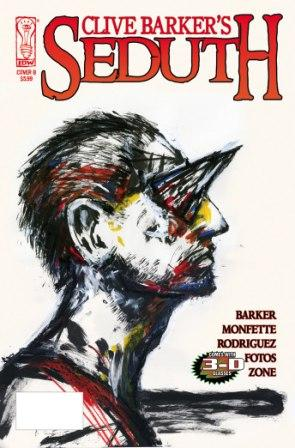 Seduth - variant cover art by Clive Barker