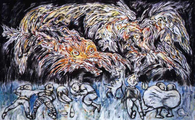 Clive Barker - Six Students Dreaming Of The Same Dragon