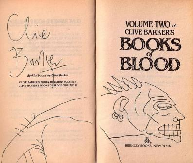 Clive Barker - Books Of Blood, US