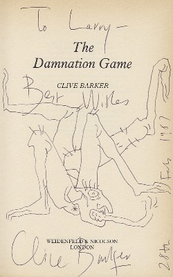 Clive Barker - The Damnation Game