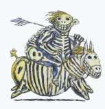 Clive Barker - Skeletal Boy On A Skeletal Horse