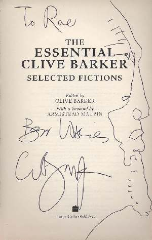 Clive Barker - The Essential Clive Barker, UK