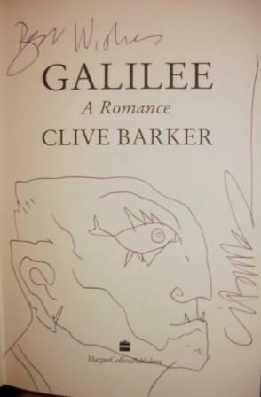 Clive Barker - Galilee, UK