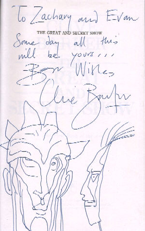 Clive Barker - Great and Secret Show, US