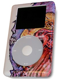 Not So Friendly Faces - iPod skin
