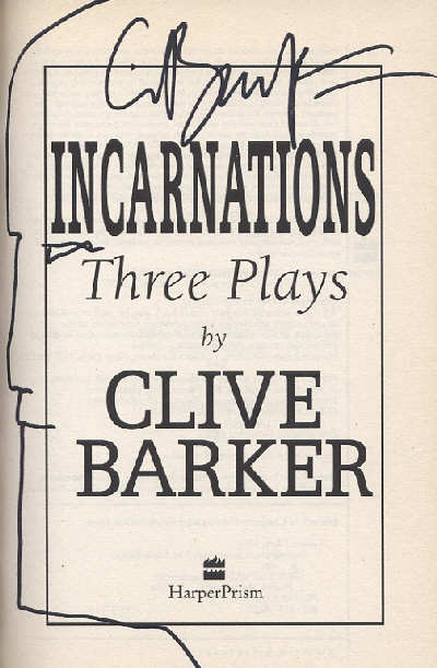 Clive Barker - Incarnations, US