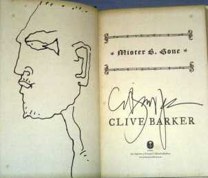 Clive Barker - Mister B. Gone, Barnes and Noble