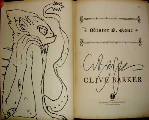 Clive Barker - Mister B. Gone, Third Place Books