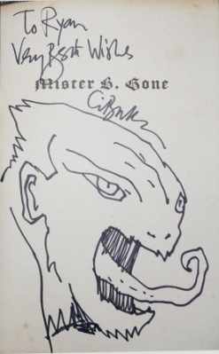 Clive Barker - Mister B. Gone, Science Fiction Museum