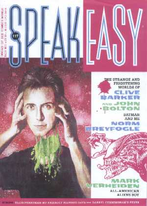 Speakeasy - No 117, February 1991