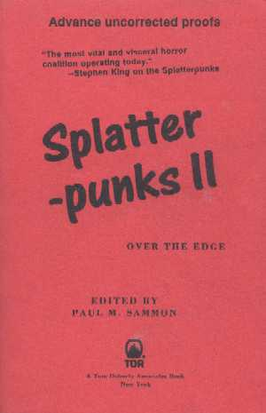 Splatterpunks II : Over the Edge - proof, 1995