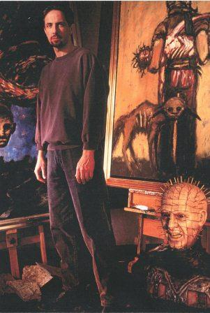 Clive Barker - In the studio, 1995