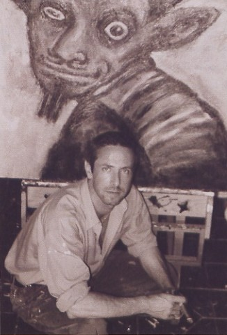 Clive Barker - In the studio, around 1997 or 1998