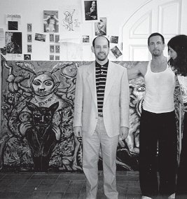 Clive Barker - In the studio, 1997