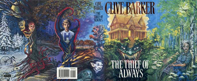 Clive Barker - The Thief Of Always Cover