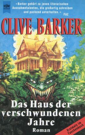 Clive Barker - Thief of Always - Germany, 1995