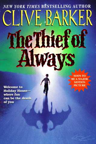 Clive Barker - Thief of Always - US paperback edition
