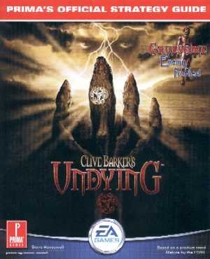 Clive Barker - Undying - Prima stategy guide
