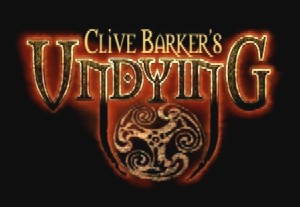 Clive Barker - Undying - artwork for 'Alice' trailer