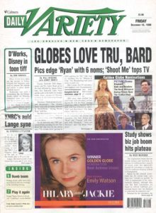 Daily Variety, 18 December 1998