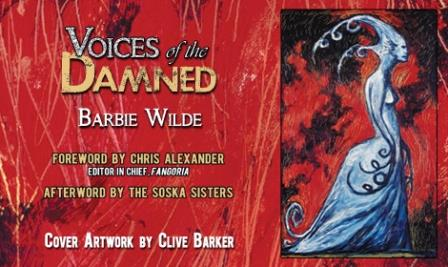 Voices of the Damned promotional postcard