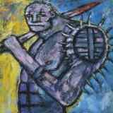 Clive Barker - Warrior With Spiky Shoulder