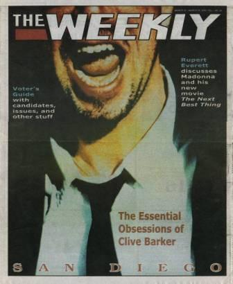 The Weekly, San Diego, Vol 1 No 24, 3-9 March 2000