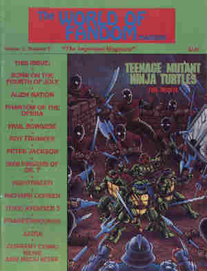 World Of Fandom, Vol 2 No 9, Spring 1990
