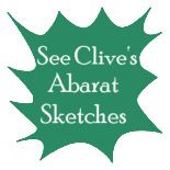 Clive Barker - Abarat - Clive's work-in-progress sketchbook