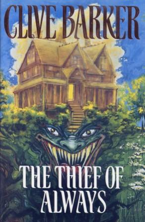 Clive Barker - Thief - UK first edition