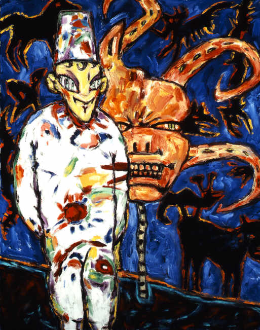 Clive Barker - Yellow-Faced Clown