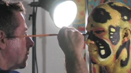 Clive Barker Zoomen - live painting session