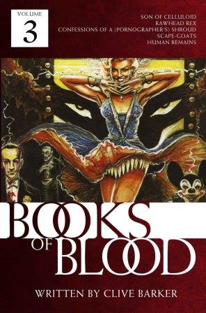 Clive Barker - Books of Blood 3 Crossroad Press audio