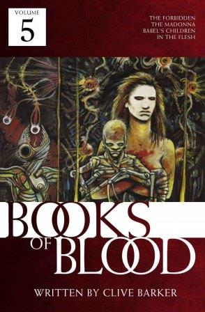 Clive Barker - Books of Blood 5 Crossroad Press audio
