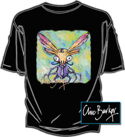 Graphic Gear - Clive Barker - Bugged T-shirt