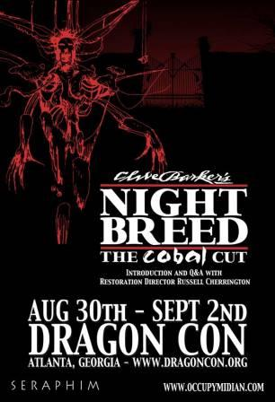 Cabal Cut Nightbreed poster