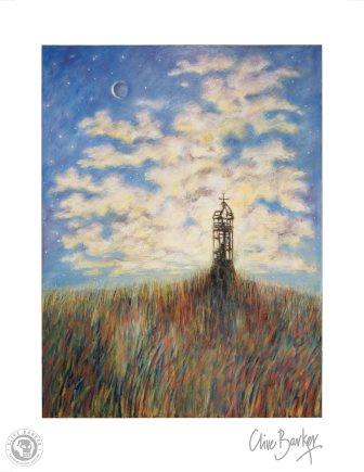 Clive Barker - The Lighthouse at Hark's Harbor print