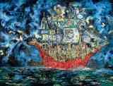 Clive Barker - [city on a red ship]