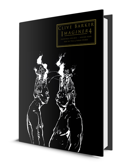 The Official Clive Barker Website - Books - in-progress projects