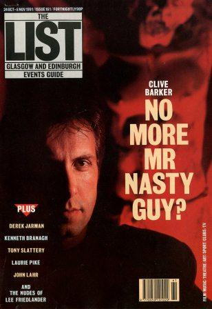 The List, 24 October - 6 November 1991