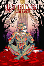 Clive Barker - Next Testament Issue 5, A cover art by Goni Montes