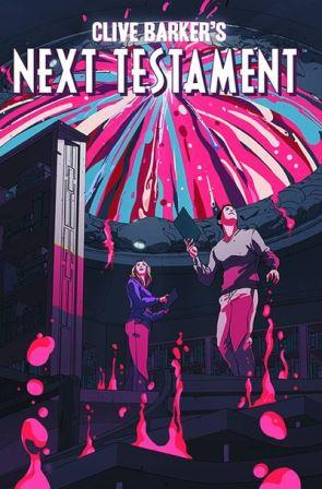 Clive Barker - Next Testament Issue 9, A cover art by Goni Montes