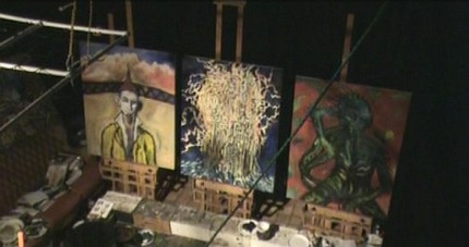 Clive Barker - The Studio - February 2008